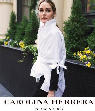 禁欲诱惑 Carolina Herrera 2016秋冬衬衫广告大片